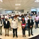 Toman protesta integrantes de los Consejos Distritales y Municipales para el Proceso Electoral Local Ordinario 2021